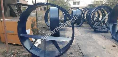 Axial flow fan housing