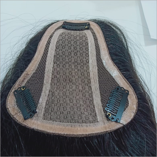 Bone Straight Clip Hair topper