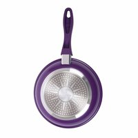 Wonderchef Induction Base Non-Stick Aluminum Elite Fry Pan, 20cm, Purple and Black