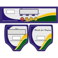 Weighing Scale Label Sticker
