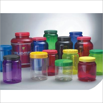 Plastic PET Bottle Jar