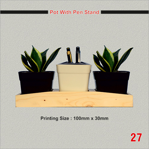 Promotional Pot with Pen Stand