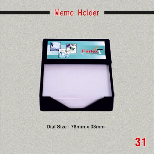 Promotional Memo Holder