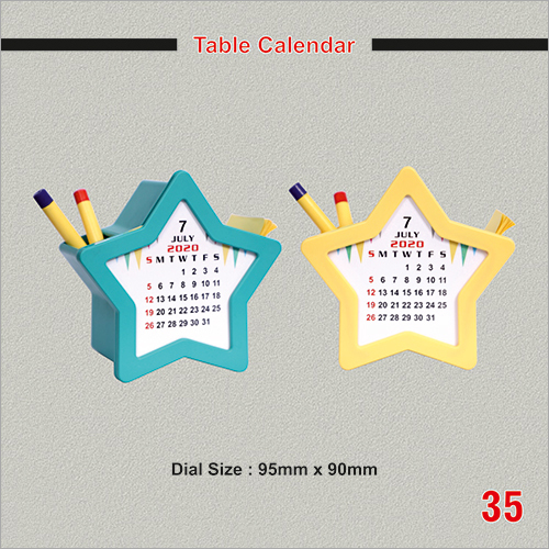 Promotional Table Calendar