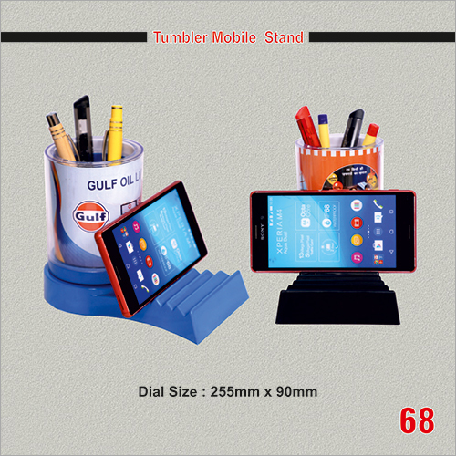 Promotional Tumbler Mobile Stand
