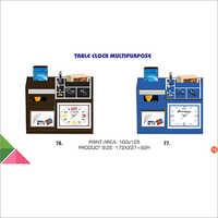 Table Clock Multipurpose