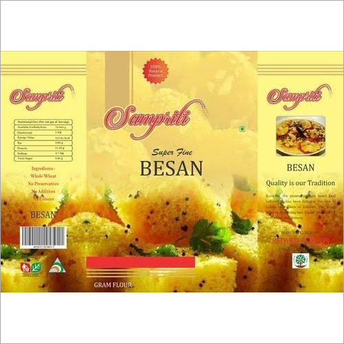 Besan Packaging Pouches