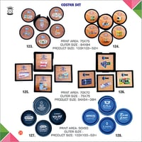 Promotional Coster Set