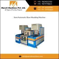 Semi-auto blow molding machine