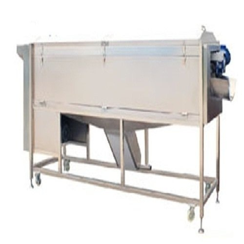 Large Type Roots Screw Vegetable Washer And Peeler