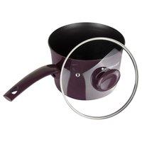 Wonderchef Everest Aluminium Sauce Pan with Lid, 2.85 Litres/18cm, Purple