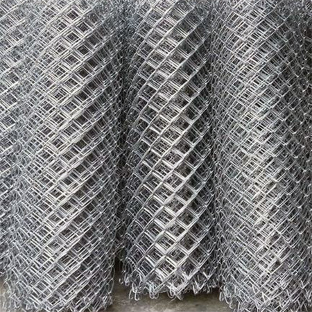 Galvanized Iron (GI) Chain Link Fencing Mesh