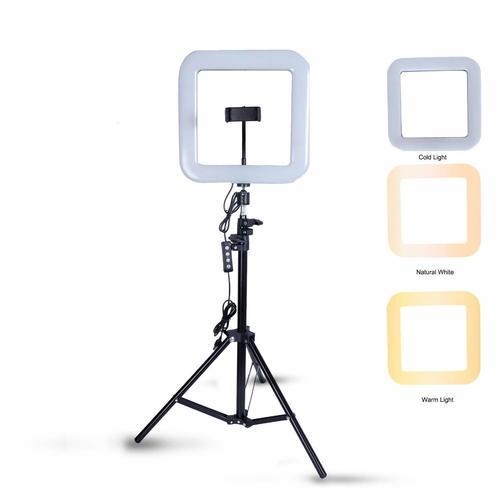 16 inch Square Selfie Ring led Light