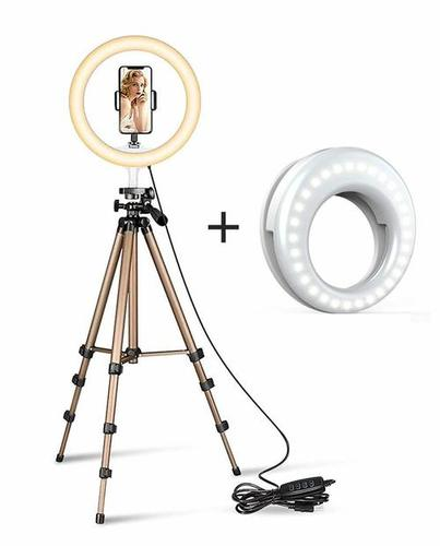 10 Inch Ring Led Camera Light with Small Led Light