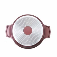 Wonderchef Sienna Aluminium Casserole Set, 3-Pieces, Maroon