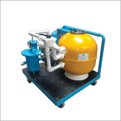 11000 LPH Portable Pressure Sand Filters