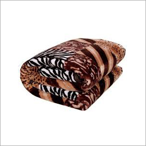 Animal Print Mink Blanket