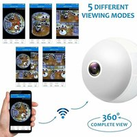 360° CCTV Security Camera with Night Vision
