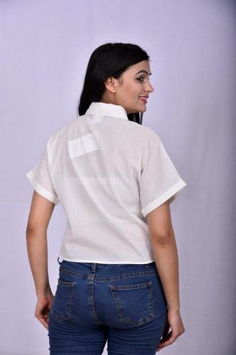 Schiffly Embroidery Shirt