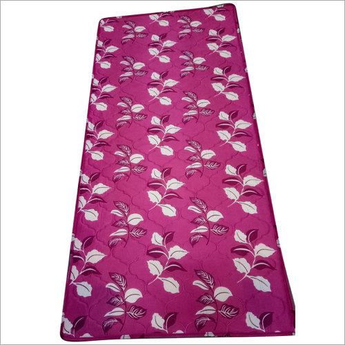 Floral Printed Rubber Foam Bed Mattress