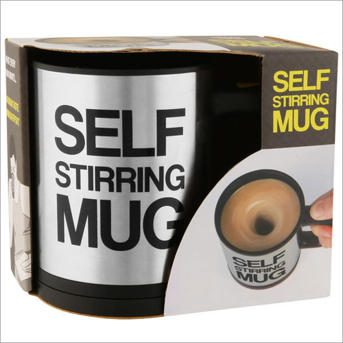Self String Mug WIth One Touch Mixing