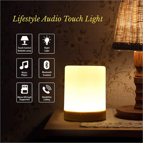 Portable LED Audio Touch Light