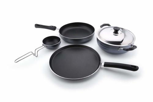 Tosaa Non-Stick 4-Piece Kitchen Set (Gas Compatible)