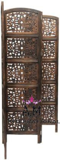 wooden room partition