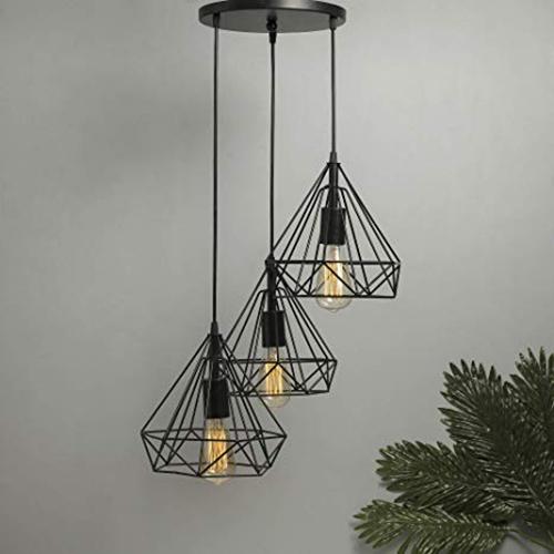 Wrought Iron Hanging Lamp