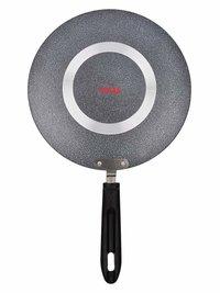 Tosaa Non-Stick Concave Tawa,Black, 25cm