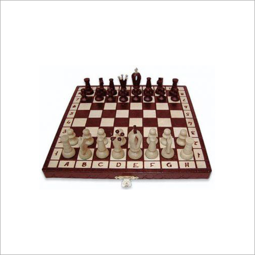 Ornate Pieces Kings 30 Wooden Chess Set