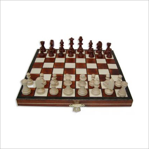 Small Magnetic Wooden Chess