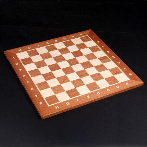 No 4 Staunton Wooden Chess Board
