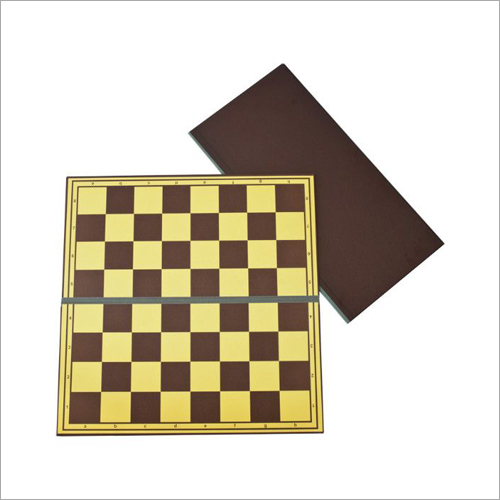 No 6 Staunton Cardboard Chess