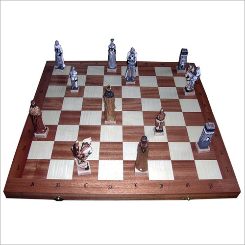 Grunwald Stone Pieces Chess