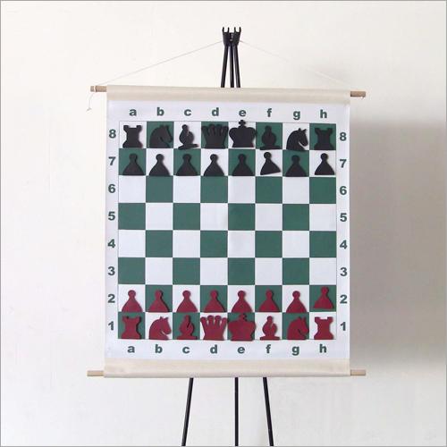 Magnetic Rollo Demo Chess Board