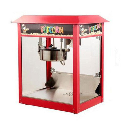 Electric Glass Mobile Popcorn Machine