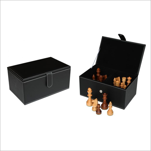 Chess Pieces Black Box
