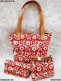 Beautiful Ikkat Handbags