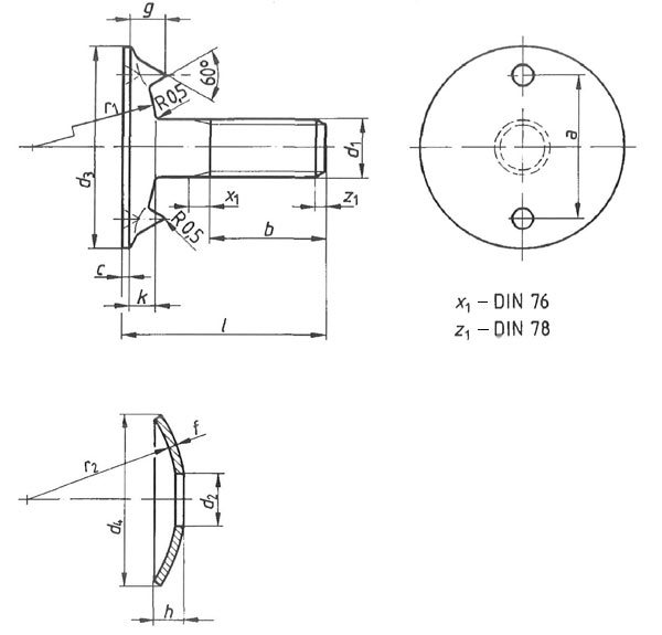 DIN 15237 Plate Screws
