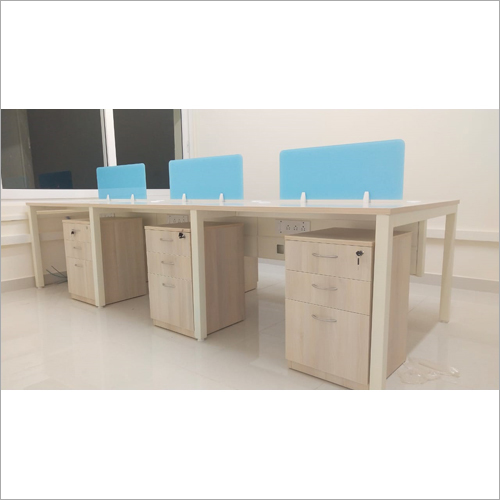Office Workstation With Cabinet