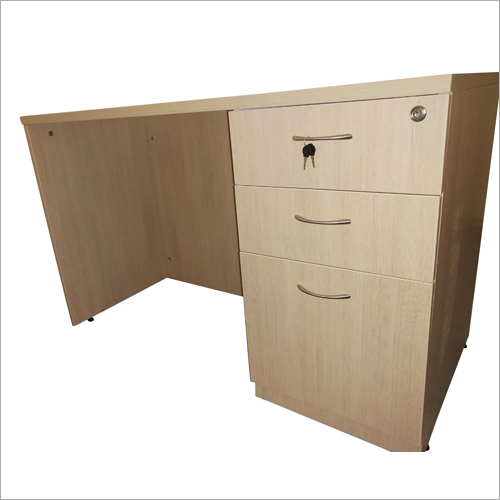 Office Workstation With Three Rack Drawer