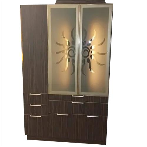 Designer Wooden Pooja Cabinet