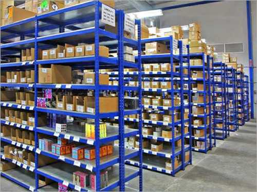 Slotted Angle Warehouse Rack