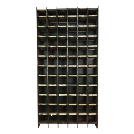 Slotted Angle Pigeon Hole Rack