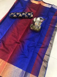 cotton desing printed saree
