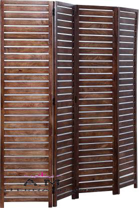 straight line design wooden partition