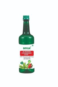 Aloevera juice (Strawberry flover)