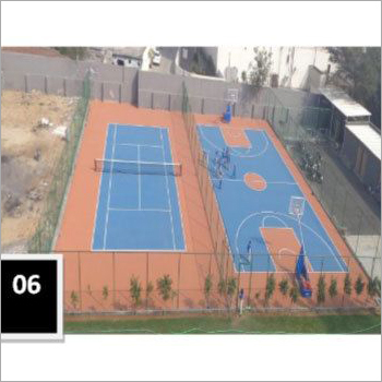 Tennis Court Rubber Mat