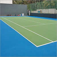 Rubber Tennis Surface